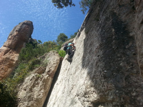Via ferrata las Damas Montserrat - Catalonia Adventures