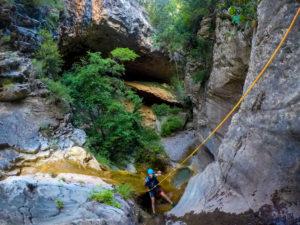 Descens de barrancs Lleida - Barranquisme Lleida-Gurp- Catalonia Adventures